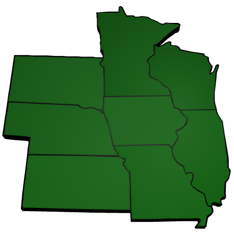 Allender Butzke Engineers Inc. Serves Iowa and the surrounding states.